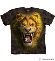 Asian Lion - Adult Lion T-shirt - The Mountain® | Tam's Treasures